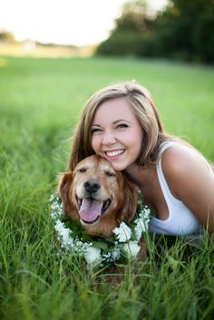 a Girls Best Friend: portraits with your Pup : Love Carmen Rose, framed pic for the dorm room: Senior portraits with your dog