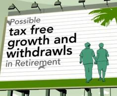 Roth IRAs provide the potential for tax free growth and withdrawals during retirement.