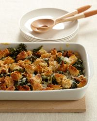 Crispy Baked Kale with Gruyere...A delicious way to get your greens