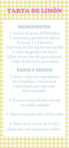 Tarta de Limón (Thermomix) Fondant Cupcakes, Cupcake Cookies, Lemon Recipes, Sweet Recipes, Cake Business, Pan Dulce, New Cake, Bread Cake, Cookies And Cream