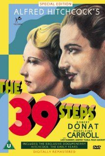 The 39 Steps. 1935. Dir: Alfred Hitchcock. Passing Thoughts: Part of a stream of early hitchcocks I've been watching (Spellbound - meh, Rebecca - oh yes). Even more train scenes. Rab says in book there is an airplane scene simialr to North by Northwest. Enjoyed resolution with the quiz master. Enjoyed: Robert's snide comments about Scottish accents