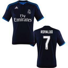 Ronaldo Jersey Real Madrid 2015 2016 Football Kits, Football Jerseys, Real Madrid, Cristiano Ronaldo Jersey, Isco, Gareth Bale, Soccer Players, Sport Fashion, Athletic Wear