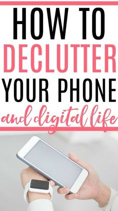 Overwhelmed by emails, apps, and more? Check out these simple tips on how to declutter your phone and digital life. Say goodbye to overwhelm! House Cleaning Tips, Spring Cleaning, Cleaning Hacks, Cleaning Solutions, Arm And Hammer Super Washing Soda, Iphone Life Hacks, Urine Smells, Organisation Hacks, Organization