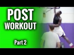 Post Player Workout Part 2...Basketball Drills For Post Players - YouTube