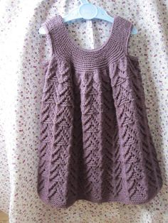 A-line dress with Bolero and Rompers Knitting pattern by OGE Knitwear Designs Beginner Knitting Patterns, Knitting For Beginners, Knitting Projects, Knitting Stitches, Crochet Fall, Knit Crochet, Weaving Patterns, Stunning Dresses, Baby Knitting