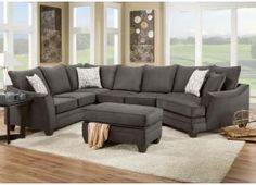 erica 6piece top grain leather modular sectional brown living room pinterest sectional living room sets sectional living rooms and living