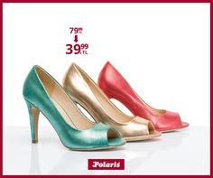 Sizin tercihiniz hangi renk? #fashion #fashionable #style #stylish #polaris #polarisayakkabi #shoe #shoelover #ayakkabı #shop #shopping #women #womanfashion #moda #womenstyle #topukluayakkabı #şıklık #zarafet #stil #colorful #rengarenk