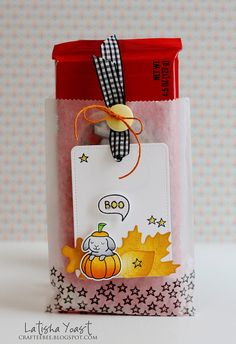 Lawn Fawn - Critters in Costume _ Boo Bag by Latisha