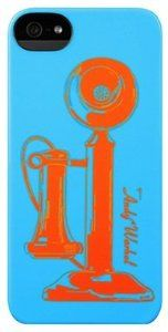 Andy Warhol blue and orange case.