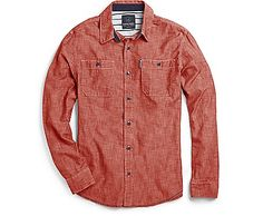 88a1768186 Sperry Top-Sider Chambray Utility Shirt Sperry Top Sider