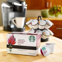 Starbucks Pike Place Torrefaction Roast, K-Cup for Keurig Brewers, 108 Count * Unbelievable product right here! : K Cups Starbucks Coupon, Starbucks Store, Starbucks Drinks, Starbucks Coffee, Coffee K Cups, Coffee Pods, Coffee Beans, Coffee Talk, Coffee Coffee