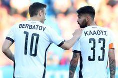 #Berbatov #Klaus #action #superleague #playoffs #PGSSPAOK