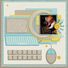 My Techy Toddler by Lukasmummy, via Flickr