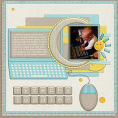My Techy Toddler by Lukasmummy, via Flickr
