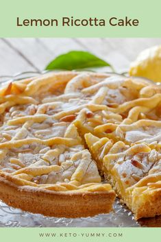 Lemon Ricota cake is one the best cake i have tried for sure you´ll love it! #ketocake #ketolemonricottacake #lemoncake #lemonricottacake #ketofood #ketocake
