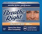 Breathe Right Advanced Nasal Strips, 44 Count $18.60