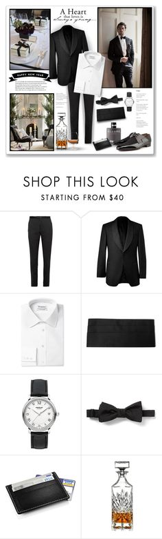 """Men's Holiday"" by m-aric ❤ liked on Polyvore featuring Gucci, Jo Malone, Gieves & Hawkes, Givenchy, Montblanc, Chanel, Christian Louboutin, Stelton, Godinger and Bormioli Rocco"