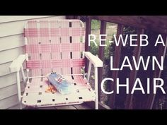 5 Doubts About Vinyl Lawn Chair Webbing Replacement You Should Clarify Metal Patio Chairs, Plastic Patio Chairs, Lawn Chairs, Outdoor Chairs, Chair Repair, Furniture Repair, Diy Furniture, Repurposed Furniture, Office Furniture