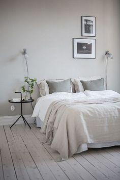 23 Modern Interior Design: 23 Awesome & Elegance Scandinavian Bedroom D. Minimalist Bedroom, Modern Bedroom, Bedroom Decor, Bedroom Furniture, Bedroom Ideas, Eclectic Bedrooms, Taupe Bedroom, Hallway Furniture, Trendy Bedroom