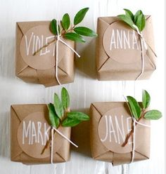 Sweet little #gift wrapping #DIY