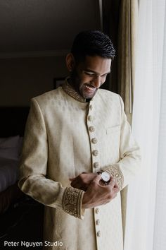 Indian groom's watch Indian Wedding Poses, Indian Engagement, Engagement Photo Poses, Engagement Ideas, Engagement Shoots, Wedding Outfits For Groom, Groom Wedding Dress, Indian Wedding Photography Poses, Boy Photography Poses