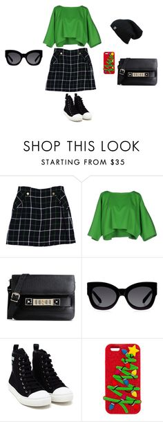 """""""Bez naslova #90"""" by mei-terumi ❤ liked on Polyvore featuring Kate Spade, Maison About, Proenza Schouler, Karen Walker and Moschino"""