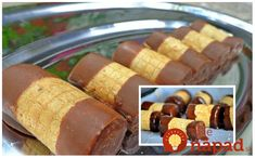 Kuhinja i ideje: Rolnice od oblandi Homemade Sweets, Homemade Cookies, Easy Desserts, Delicious Desserts, Croation Recipes, Croatian Cuisine, Rodjendanske Torte, Bosnian Recipes, Bosnian Food