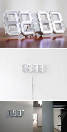LED Clock | @CO DE + / F_ORM