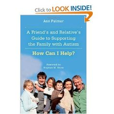 A good book, I would recommend it to all aunts, uncles and grandparents of autistic children.