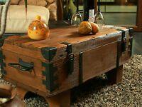 Alte Truhe Kiste Tisch Shabby Chic Holz Beistelltisch Holztruhe Couchtisch 16 In 2020 Alte Truhe Holztruhe Beistelltisch