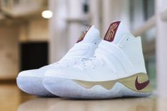 161a29e5ecc4 Kyrie Irving's NBA Finals Game 3 Nike KYRIE 2 PE