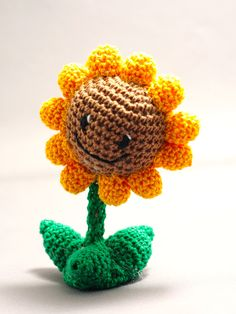 Plants vs. Zombies: Sunflower by Nissie.deviantart.com on @deviantART