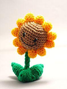 Plants vs. Zombies: Sunflower by Nissie.deviantart.com on @deviantART