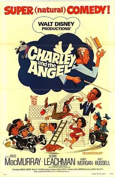 Charley and the Angel Poster (1973)