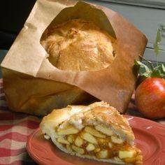 "Named ""best pie in America"" by the Wall Street Journal, Gourmet, Food Network, and generations of happy customers, The Elegant Farmer's Apple Pie Baked in a Paper Bag® www.elegantfarmer.com"