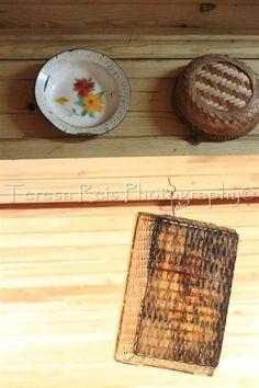 Na sanca: cestos e utensílios de cozinha antigos (foto 4)