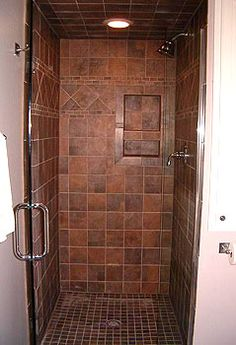 bathroom inspiration. superb stand up shower with