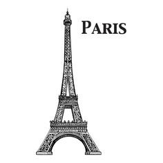 Eiffel Tower Wall Decal Black  sc 1 st  Pinterest & Gifts Under $50: Thanks to Lenox\u0027s Tin Can Alley dinnerware they ...