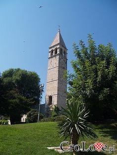 Wieża nieopodal pomnika Grgura Ninskiego | #Chorwacja #Croatia #Hrvatska #Split - http://crolove.pl/split-magiczne-miasto-cesarza-dioklecjana/