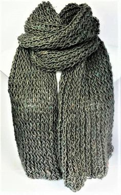 Check out this item in my Etsy shop https://www.etsy.com/uk/listing/532772855/grey-knit-scarf-recycled-knit-scarf