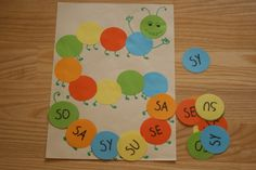 Sylabowa gąsienica- głoska [s] w nagłosie