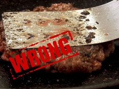 ▶ You're Doing It All Wrong - How to Make a Burger - YouTube - i love hubert keller's voice and especially when he's describing a burger
