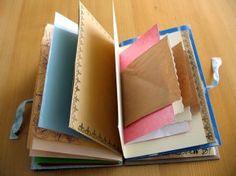 Handmade journal, recycling