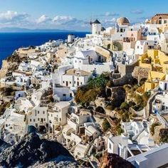 Oia, Santorini, Greece by Eva0707.