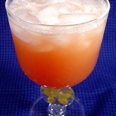 giligans island: OJ, cran juice, vodka, peach schnapps.