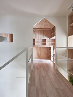 Taiwan apartment featuring house-shaped doors