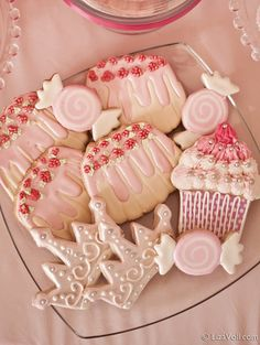 Our nutcracker suite ballet party cookies, gorgeous!