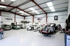 Matts dream garage...a few dream cars too!