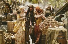 Some barrels and stuff like this from Tortuga would look good too - pirates of the carribean