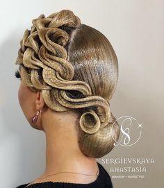 53 Box Braids Hairstyles That Rock - Hairstyles Trends Braided Crown Hairstyles, Rock Hairstyles, Best Wedding Hairstyles, Box Braids Hairstyles, Pretty Hairstyles, Dance Competition Hair, Ballroom Dance Hair, Creative Hairstyles, Hair Art